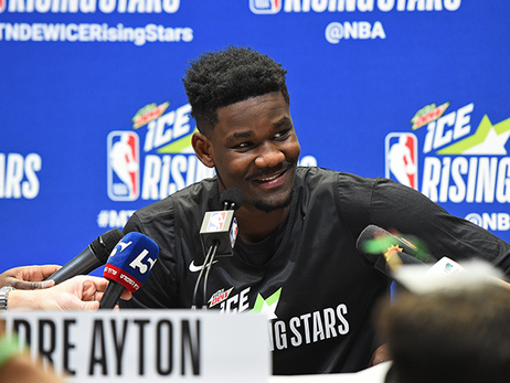 Deandre Ayton 2019 MTN Dew Ice Rising Stars Media Availability