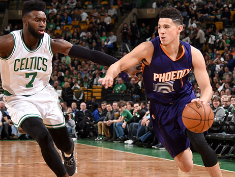The Numbers Behind Devin Booker's Historic Night