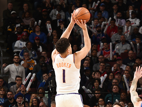 Devin Booker Drops 37 Points in Suns Loss to 76ers