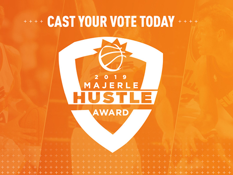 Suns Launch Fan Voting for the 2019 Dan Majerle Hustle Award