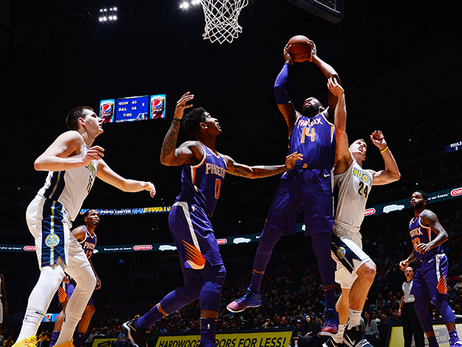 Greg Monroe Posts Double-Double as Suns Fall to Nuggets
