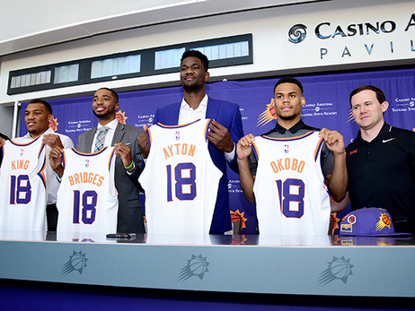 How Well Do You Know the Suns Rookies?