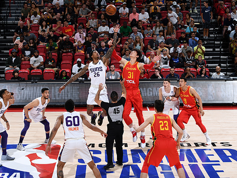 Suns Close-Out Summer League with High-Flying Victory Over China