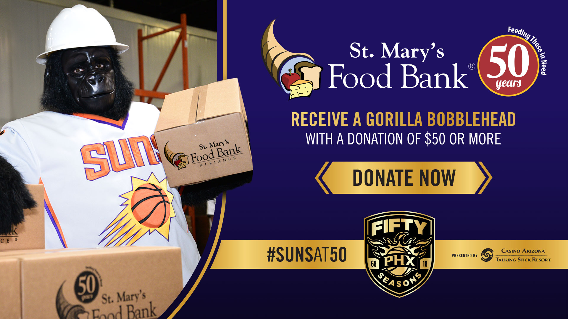 St.Mary's Food Bank tax deductible donation