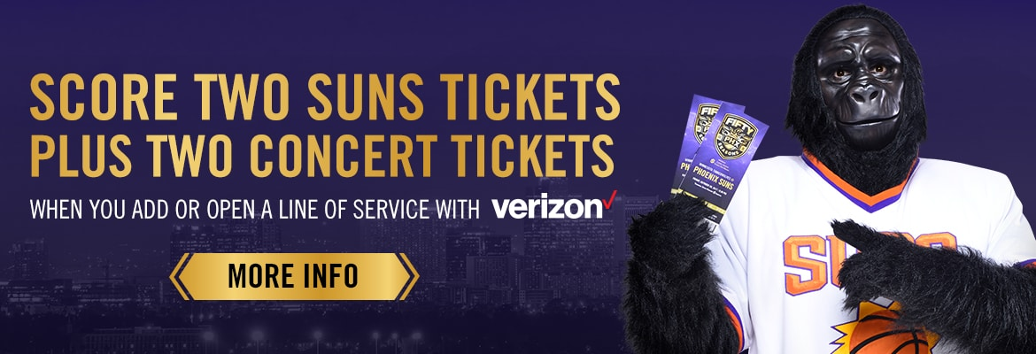 Score two free Suns tickets and two concert tickets