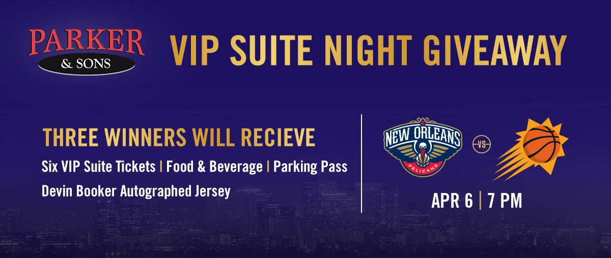 Parker & Sons VIP Suite Night