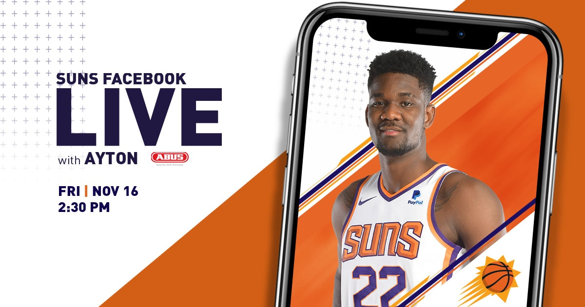 6c4a88e25d9791 Want to ask our Number 1 Draft Pick Deandre Ayton a question, submit your  questions today for a chance to hear back from the one and only live on  Facebook ...
