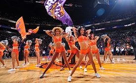 Suns Dancers Auditions