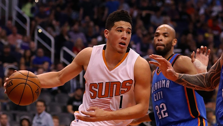Suns Welcome Thunder to Devin Booker's House