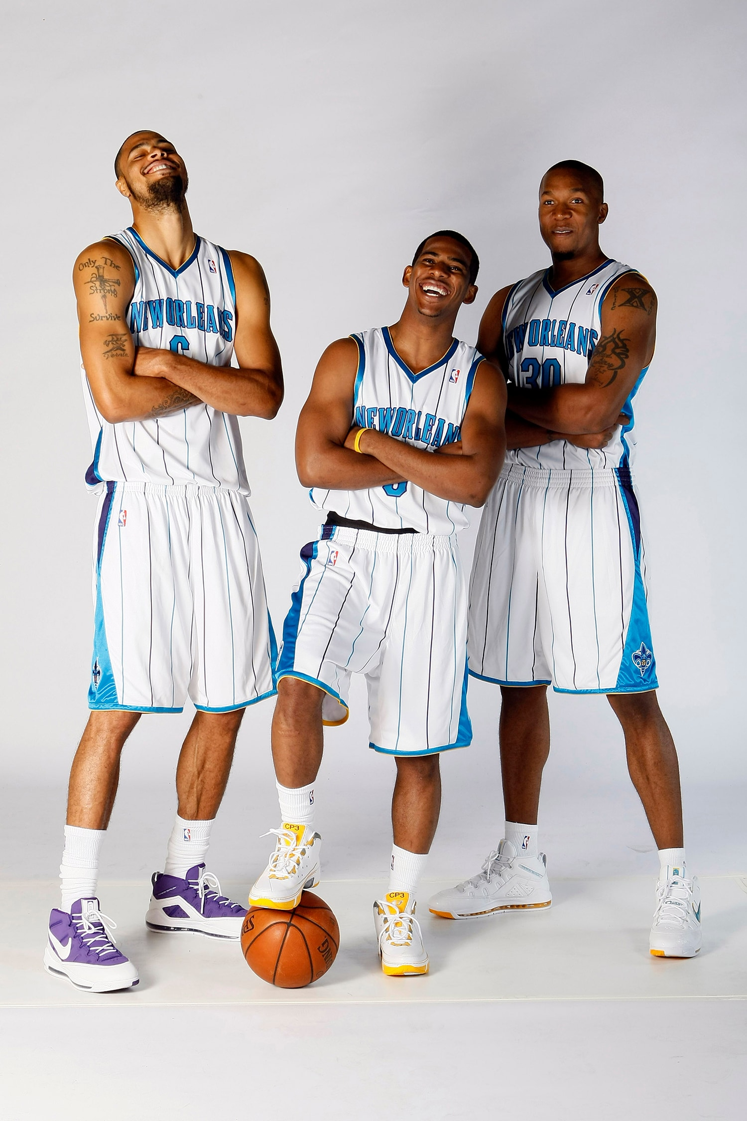 bfec2cc8d68 New Orleans Hornets, 2008 Media Day.(Getty Images)