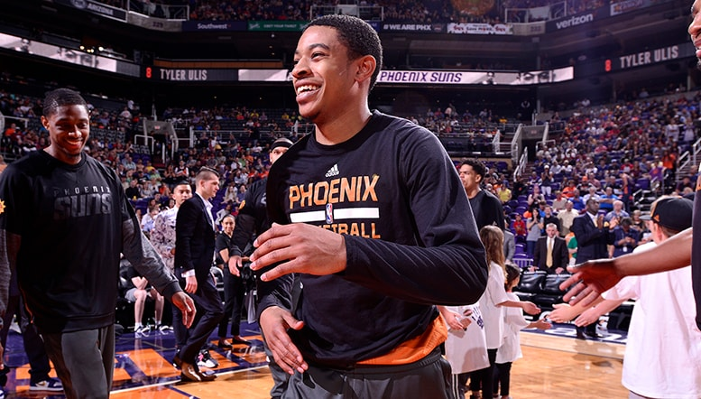 Tyler Ulis Named Western Conference Rookie of the Month