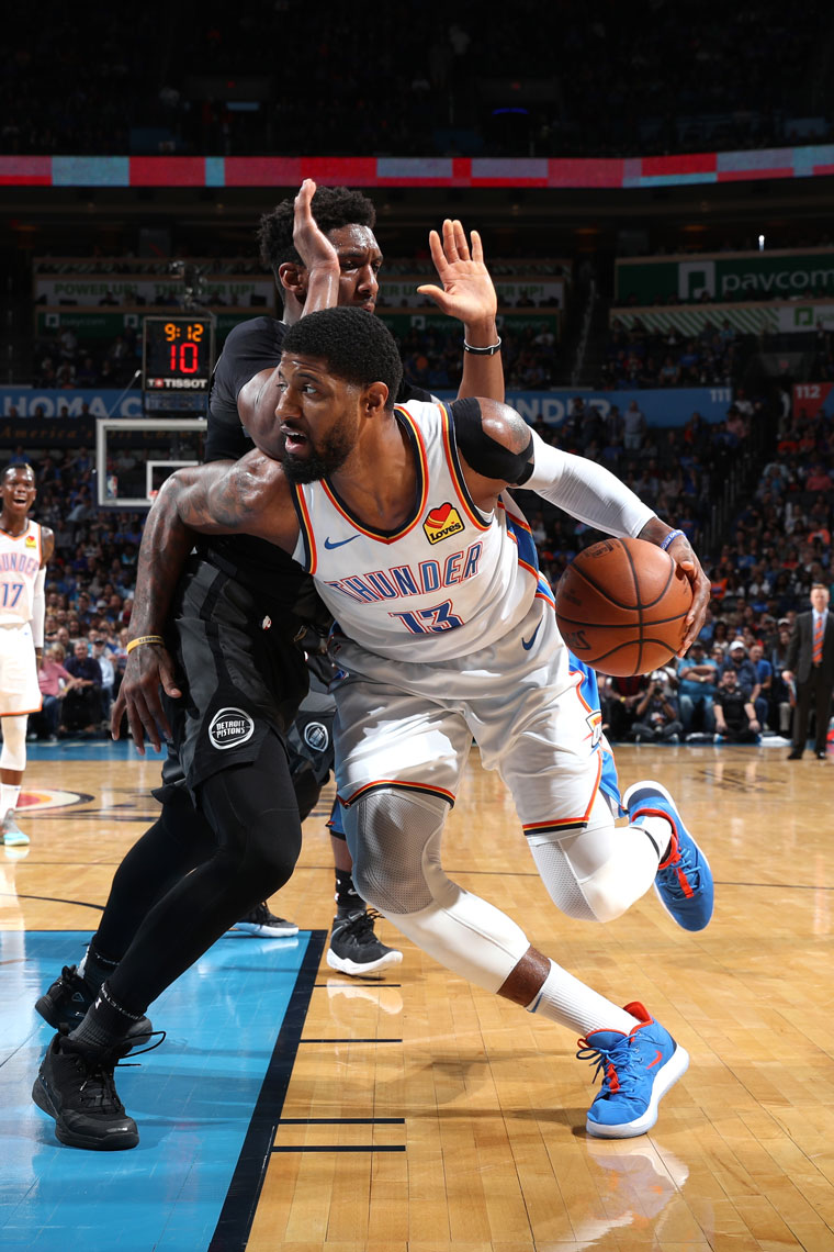 Thunder Thumps Pistons with Physicality and Connectedness