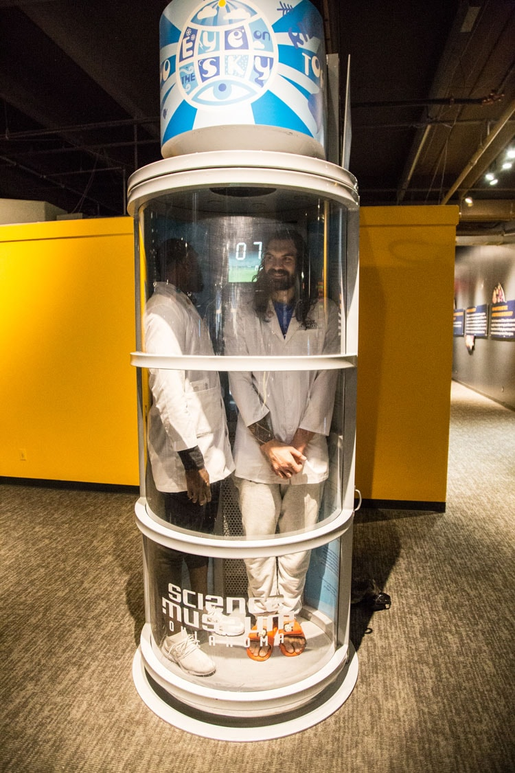 Thunder Duo Goes to Science Museum Oklahoma | Oklahoma City Thunder