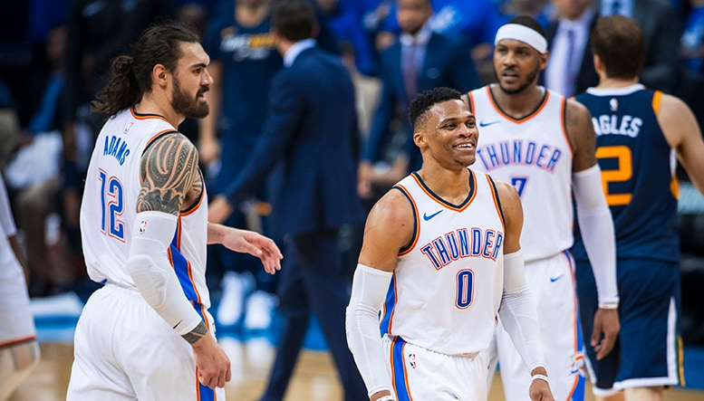 Just Like Last Time But Better  INTEGRIS Game Day Report: OKC vs. UTA Game 2