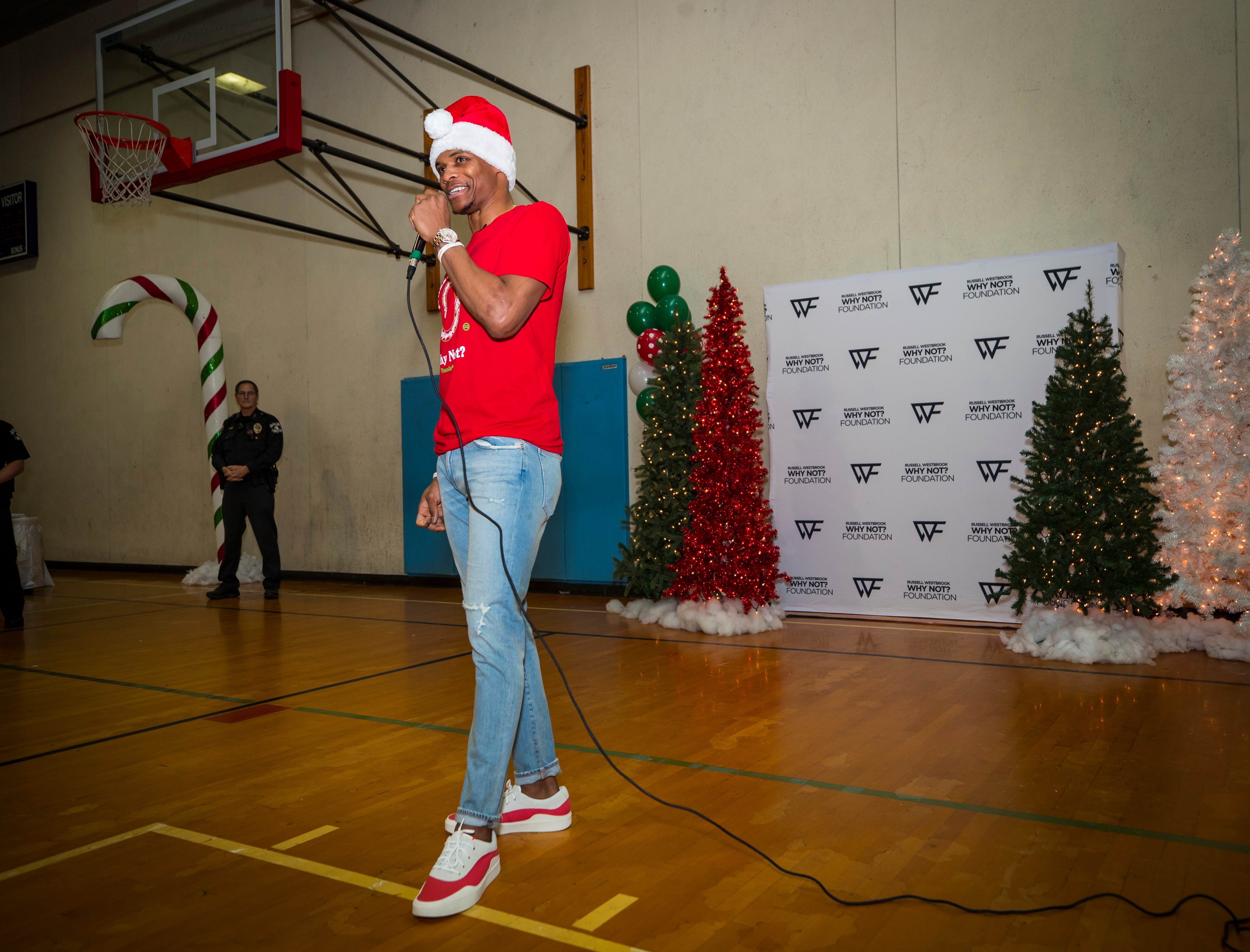 competitive price f873c f48d8 Photos: Why Not? Christmas Party | Oklahoma City Thunder