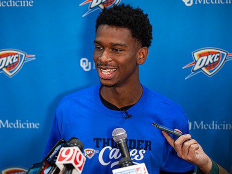 Talented, Hardworking and Competitive: Shai Gilgeous-Alexander's Early Review of Life with the Thunder