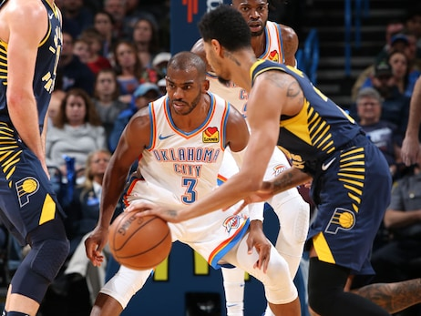 Photos: Thunder vs. Pacers