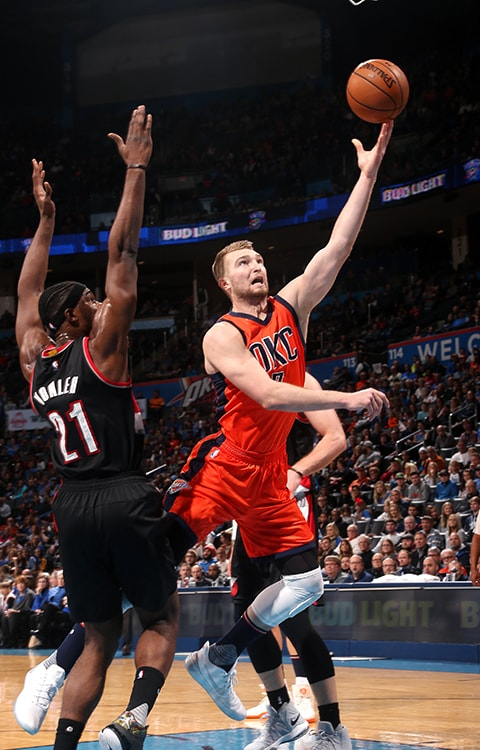 thunder vs portland trail blazers game recap � feb 5