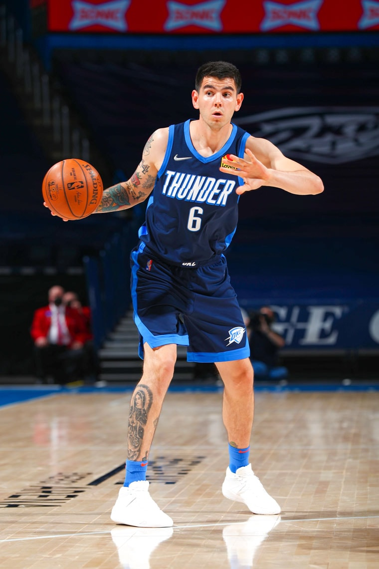 Down 18 points in the 4th, the Thunder rallied with a 17-4 run in the final minutes, but fell short, 123-120, to the Suns.(Photo by Zach Beeker   OKC Thunder)