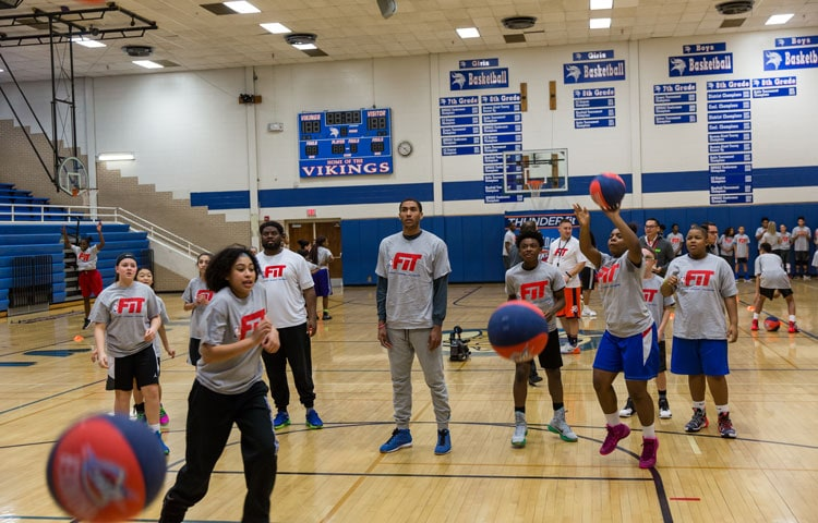 Staying NBA FIT With Focus on Fundamentals | Oklahoma City ...