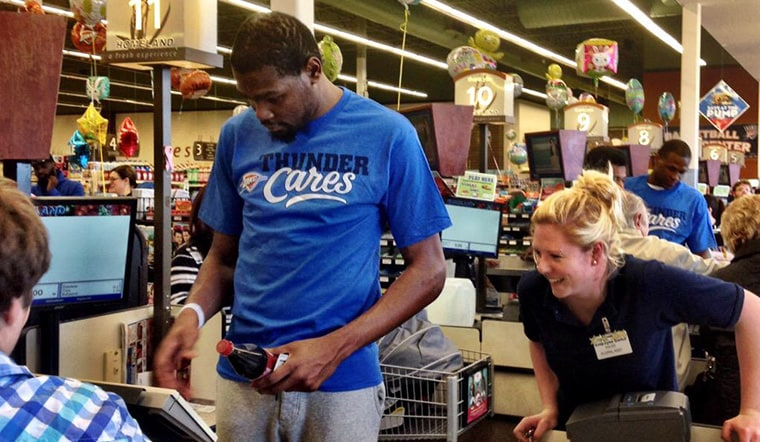 Thunder Random Acts of Kindness Spreads Cheer