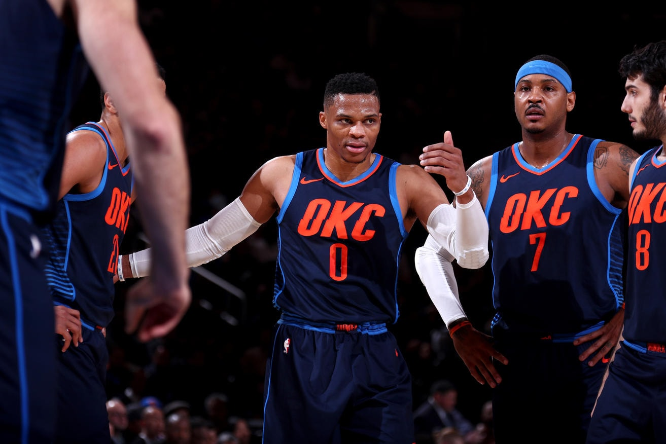 The Thunder Fell To The Knicks   Concluding Its Three Game