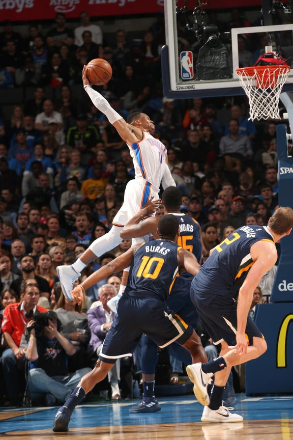 Oklahoma City Ok December  Russell Westbrook  Of The Oklahoma City