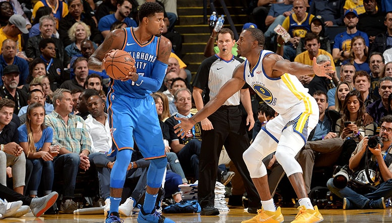 Thunder Charges But With Too Little Steam in the End - OKC 100 GSW 108