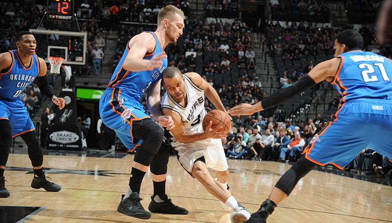 Thunder at San Antonio Spurs Game Recap – Jan. 31, 2017 | Oklahoma City Thunder