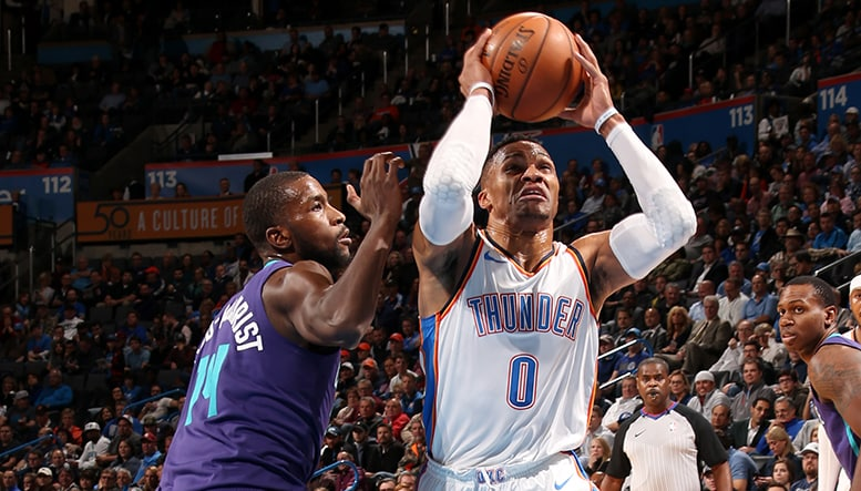 Swarmed: Thunder Blitzed in the 3rd Quarter in Loss  OKC 103 CHA 116