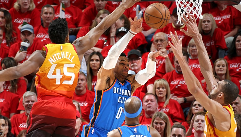 Thunder Blitzed in SLC  OKC 102 UTA 115