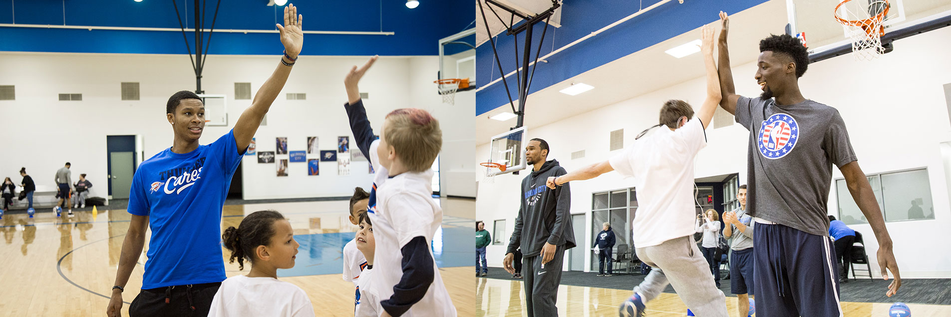 OKC Blue Joins Special Olympics for Holiday Hoops Party