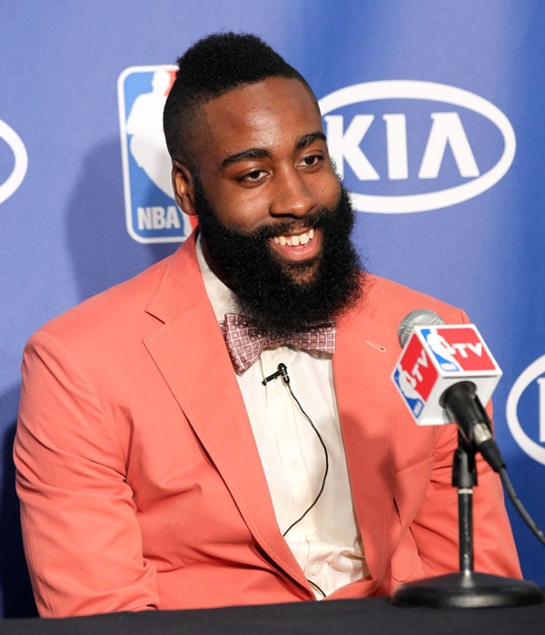 James Harden Basketball Camp: James Harden Sixth Man Of The Year