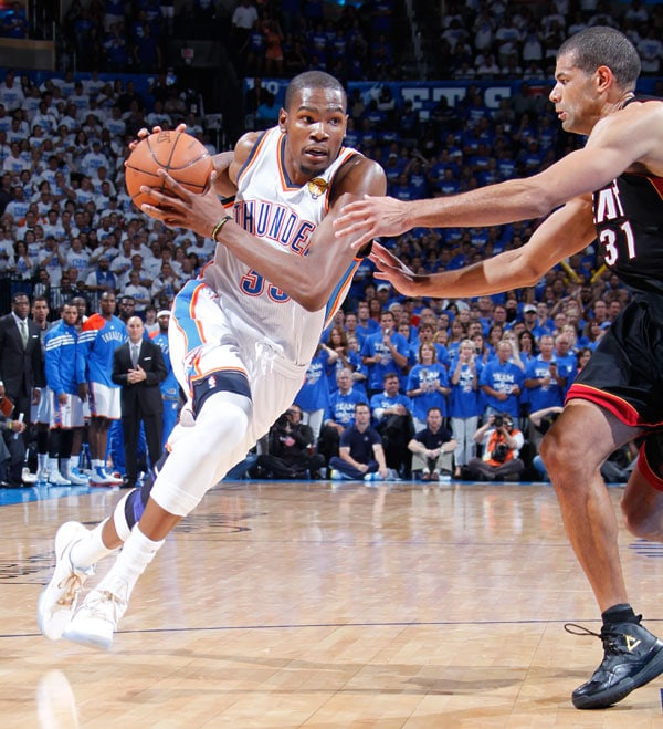 Thunder vs. Heat: 2012 NBA Finals - Game 2 | Oklahoma City Thunder