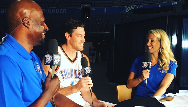 Fresh Sense of Confidence and Excitement on Media Day | Oklahoma City Thunder