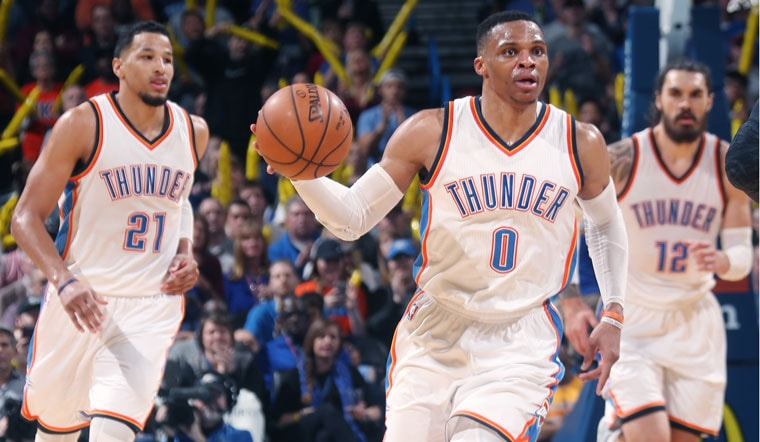 Thunder Announces 2017 Preseason Schedule