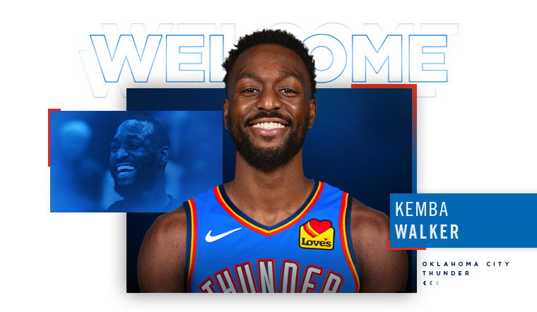 Thunder Acquires Kemba Walker, 2021 First-Round Draft Pick and 2025  Second-Round Pick   Oklahoma City Thunder