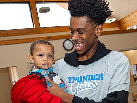 Thunder Cares and Infant Crisis Services – The Perfect Formula