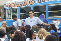 Book Bus Visits Gatewood Elementary - 2