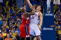 Thunder vs. Wizards: Nov. 10, 2013 - 1