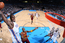 Thunder vs. Cavaliers - March 9, 2012