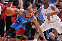 Thunder at Clippers - April 16, 2012 - 1
