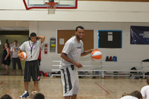 THUNDER: Cook Visits Youth Camp - June 16, 2011