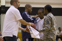 THUNDER: Thunder Players Visit Ft. Bragg