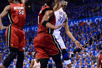 Thunder vs. Heat: 2012 NBA Finals - Game 1 - 1