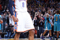 THUNDER: Thunder vs Hornets - Nov. 29, 2010