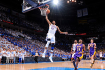 Thunder vs. Lakers: Game 2 - May 16, 2012 LAST - 1