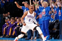 Westbrook LAL-DAL - 1