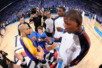 THUNDER: Photo Gallery: Game 6, Thunder vs. Lakers