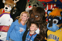 THUNDER: Photo Gallery -- Mascot Mania